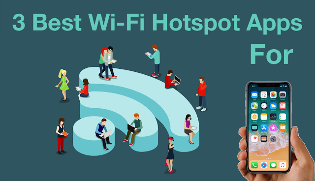 3 Best Hotspot Apps for iOS Devices (iPhone & iPad)