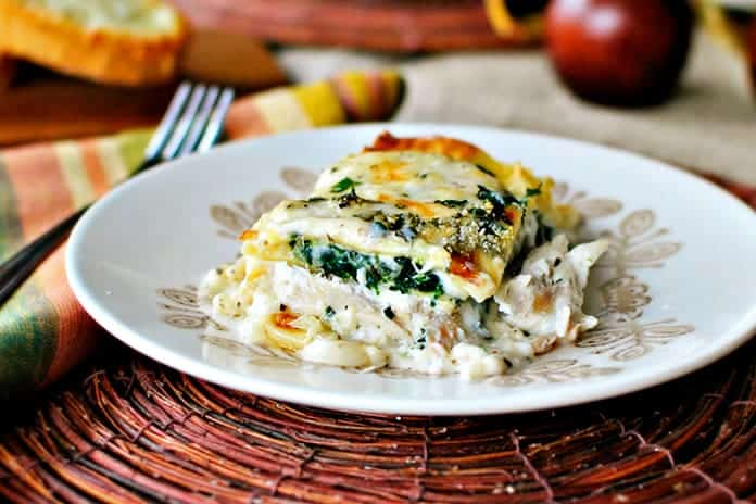 White Cheese & Chicken Lasagna Dish – Complete Recipe!