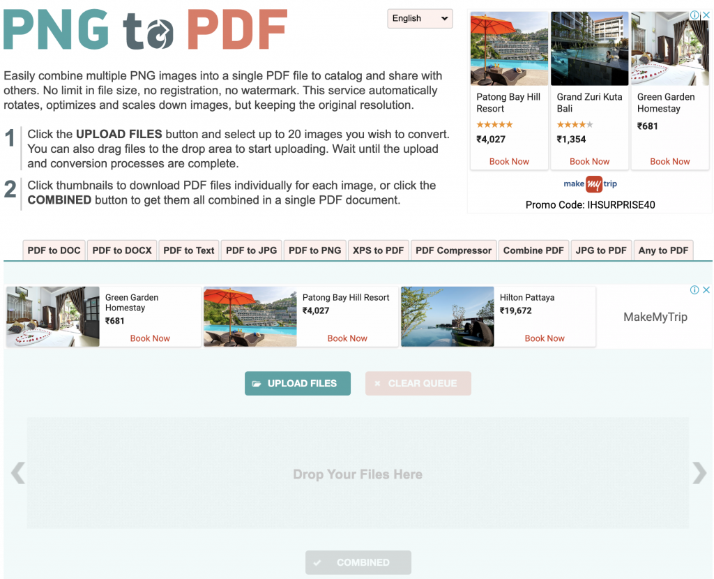 How to Convert PNG to PDF