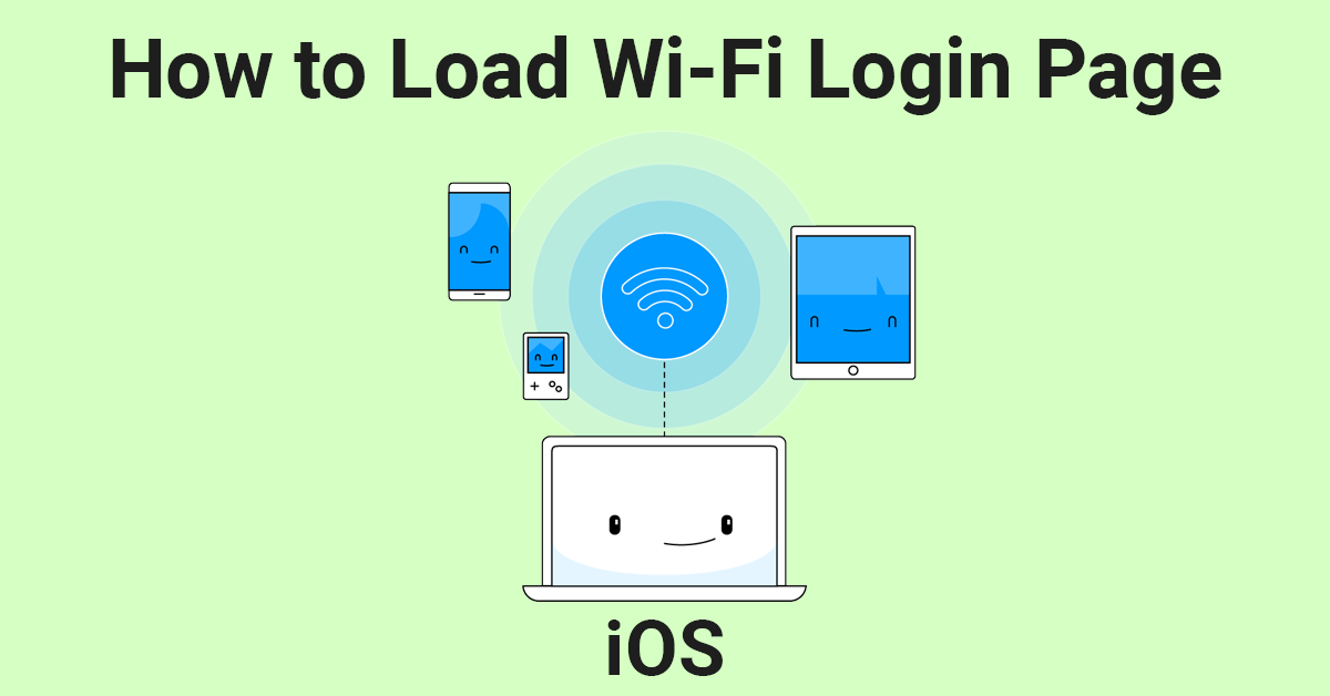 How to Solve WiFi Login Page Not Loading on iOS